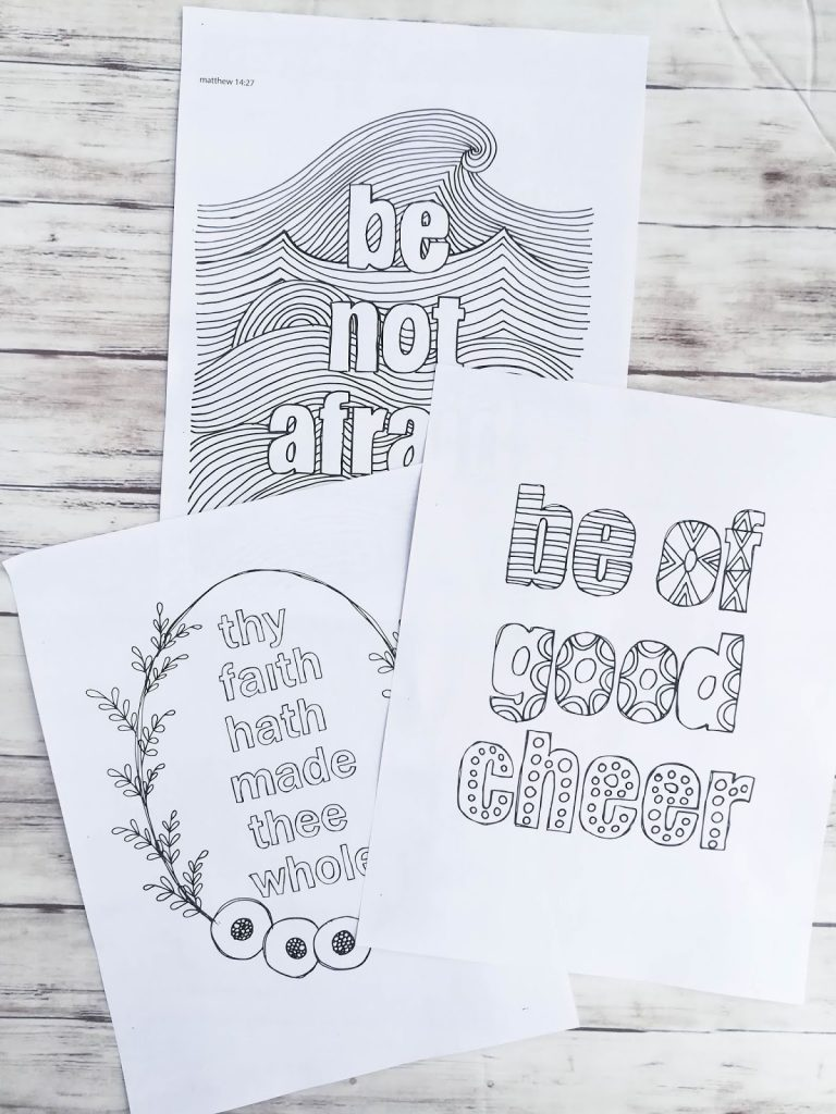 New Testament Coloring Pages (Volume 3)   alivelyhope.com