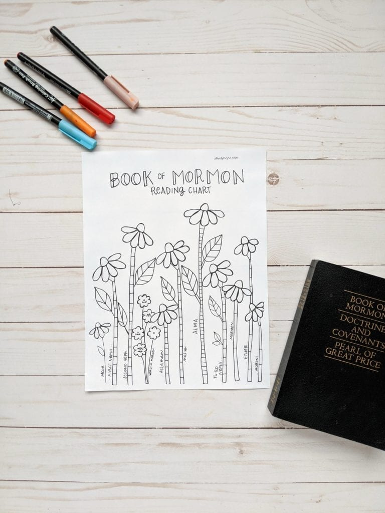 book-of-mormon-tracker-for-girls-flowers