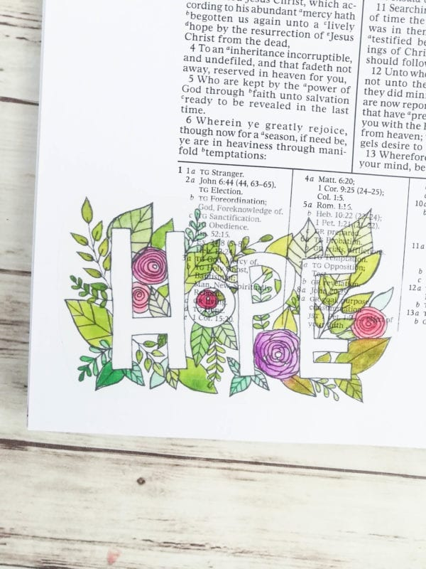 how-to-bible-journal