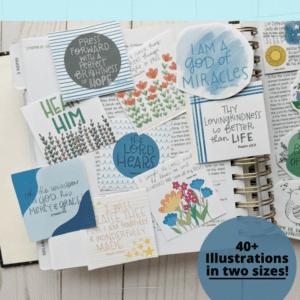 Book of Mormon scripture stickers