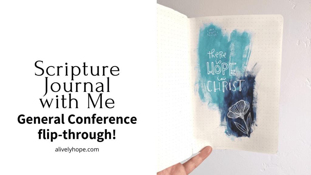 lds-genereal-conference-journal-flip-through