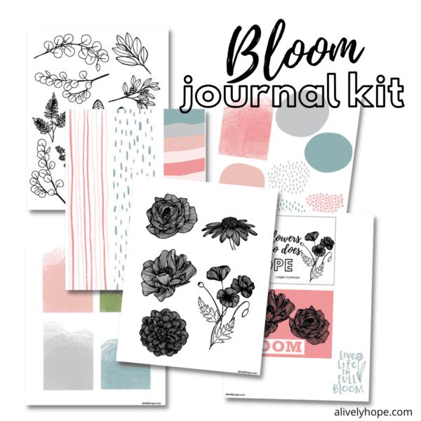 bloom-printable-journal-kit-ephemera